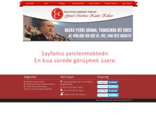 mhpkadinkollari.org screenshot