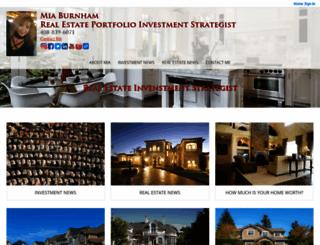 miaburnham.com screenshot