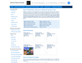 miami-fl-real-estate.com screenshot