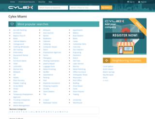miami.cylex-usa.com screenshot