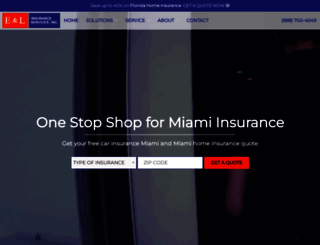 miamiautoinsurance.com screenshot