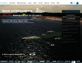 miamikiteboarding.com screenshot