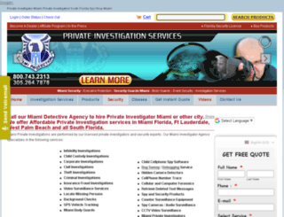 miamiprotection.com screenshot