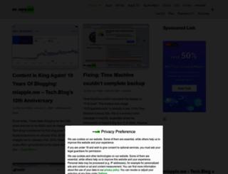miapple.me screenshot