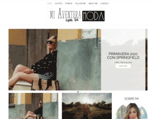 miaventuraconlamoda.com screenshot