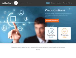 mibatech.com screenshot