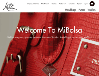 mibolsa.com.au screenshot