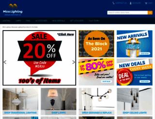 micalighting.com.au screenshot