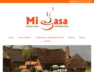 micasalodge.com screenshot