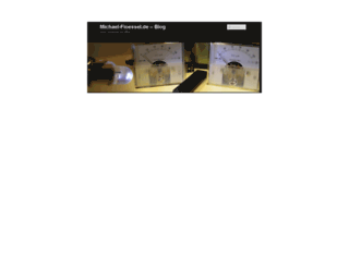 michael-floessel.de screenshot