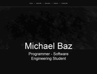 michaelbaz.net screenshot