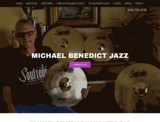 michaelbenedict.com screenshot