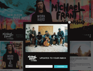 michaelfranti.com screenshot