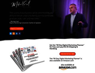 michaelgall.com screenshot