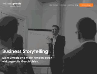 michaelgeerdts.com screenshot