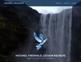 michaelkeusch.de screenshot
