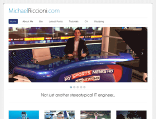 michaelriccioni.com screenshot