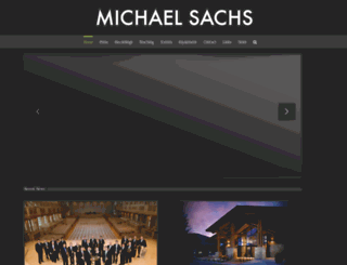 michaelsachs.com screenshot