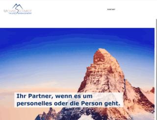 michaelschmidt.ch screenshot
