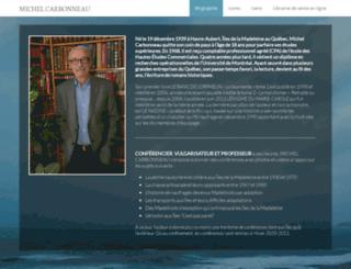 michelcarbonneau.info screenshot