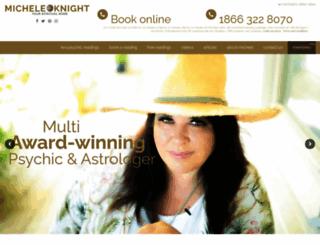 micheleknight.com screenshot
