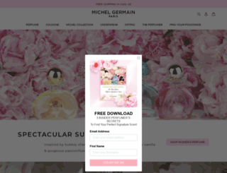 michelgermain.com screenshot