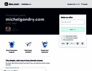 michelgondry.com screenshot