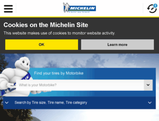 michelinmotorcycle.com screenshot