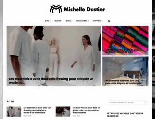 michelledastier.org screenshot
