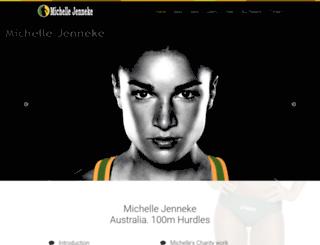 michellejenneke.com.au screenshot