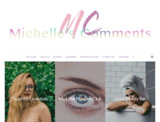 michellescomments.com screenshot