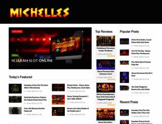 michelleshummel.com screenshot