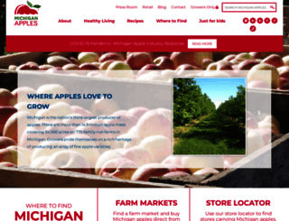 michiganapples.com screenshot