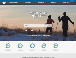 michigancity.com screenshot
