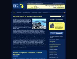 michiganfilmproduction.com screenshot