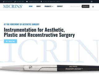 micrins.com screenshot