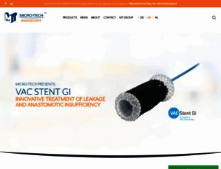 micro-tech-europe.com screenshot