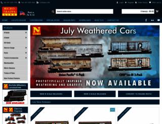 micro-trains.com screenshot