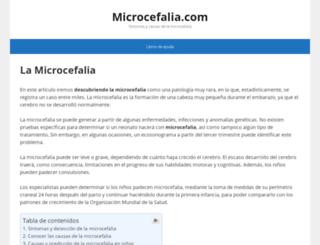 microcefalia.com screenshot