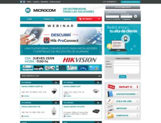 microcom.com.ar screenshot