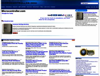 microcontroller.com screenshot