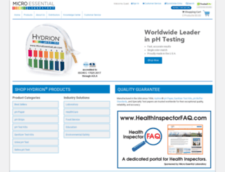 microessentiallab.com screenshot