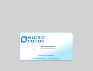 microfocus-ws.silkroad.com screenshot