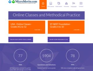 micromerits.com screenshot