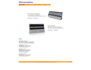 micronissimo.com screenshot