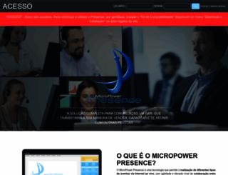 micropowerpresence.com.br screenshot