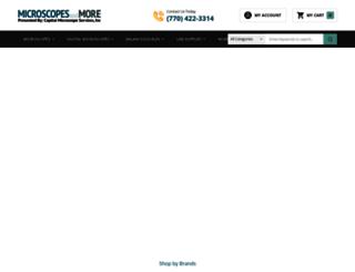 microscopesandmore.com screenshot