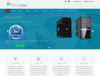 microseu.com screenshot