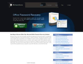 ms office access password recovery