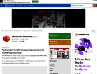 microsoft-powerpoint.softonic.pl screenshot